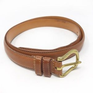 EUC COACH 6600 British Tan Leather Belt-Size 38